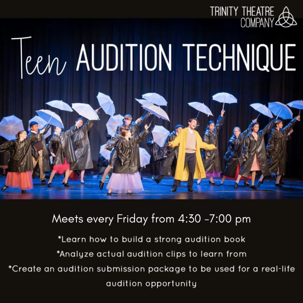 Teen Audition Technique